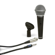 Samson SCR21S Dynamic Handheld Microphone with On/Off Switch with Cable