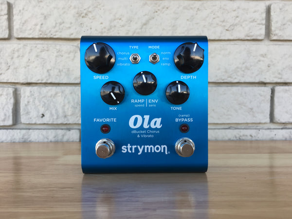 Strymon Ola dBucket and Vibrato