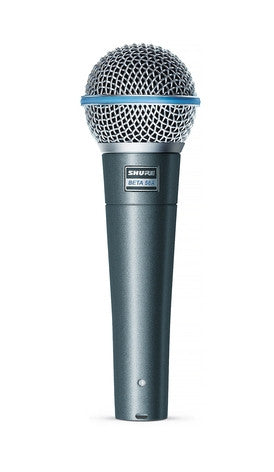 Shure BETA58A Supercardioid Dynamic Vocal Microphone