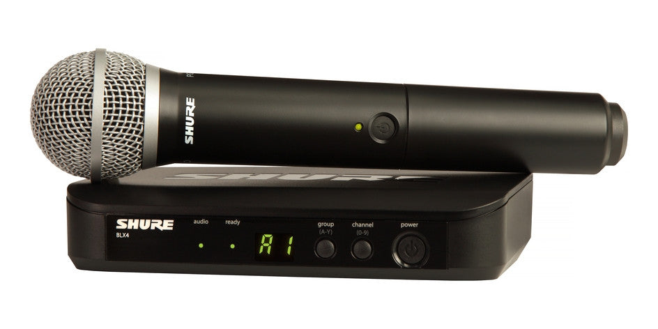 Shure BLX24/PG58 Handheld Wireless System