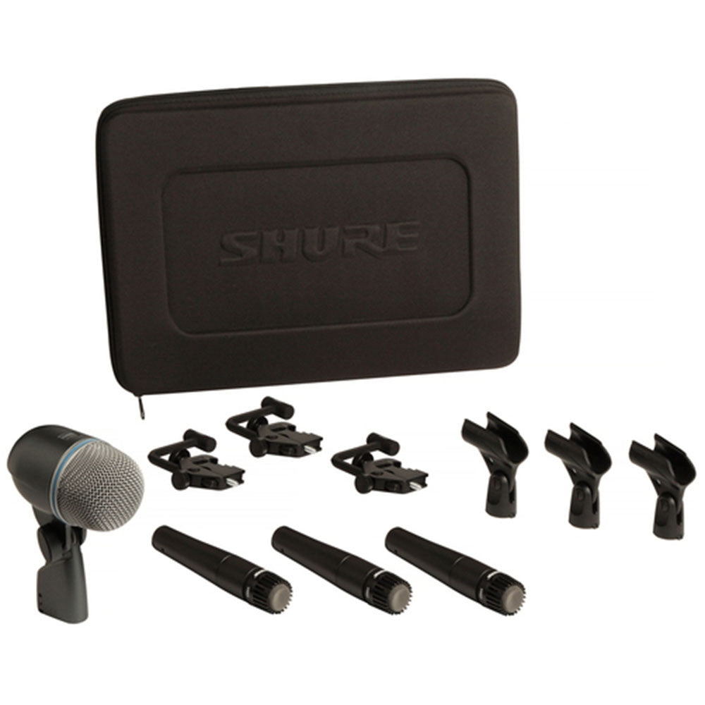 Shure DMK57-52 Drum Microphone Kit with Case