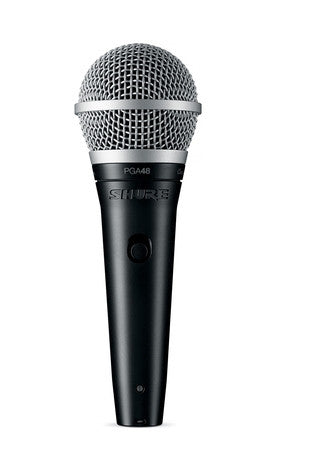 Shure PGA48-QTR Dynamic Vocal Mic with Cable
