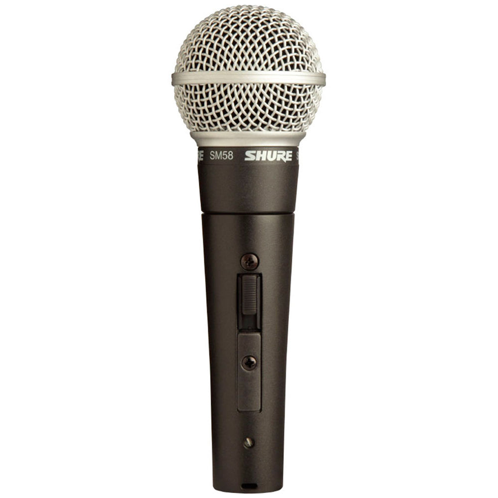 Shure SM58S Dynamic Handheld Mic with On-Off Switch