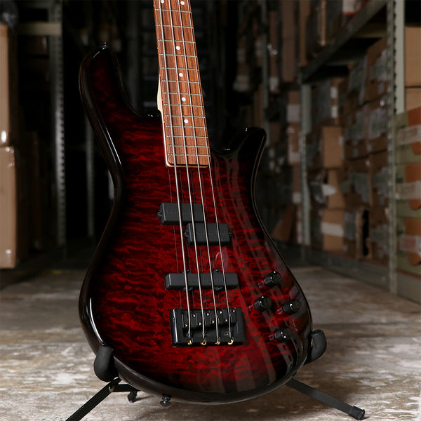 Spector LG4CLSAMBC Legend 4 Classic Bass Guitar in Black Cherry Gloss