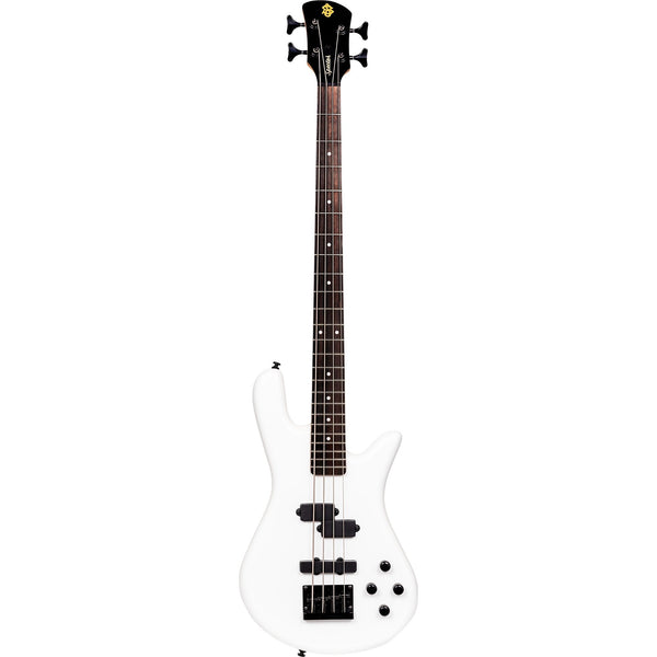 Spector Performer 4 Electric Bass Guitar in Solid White Gloss