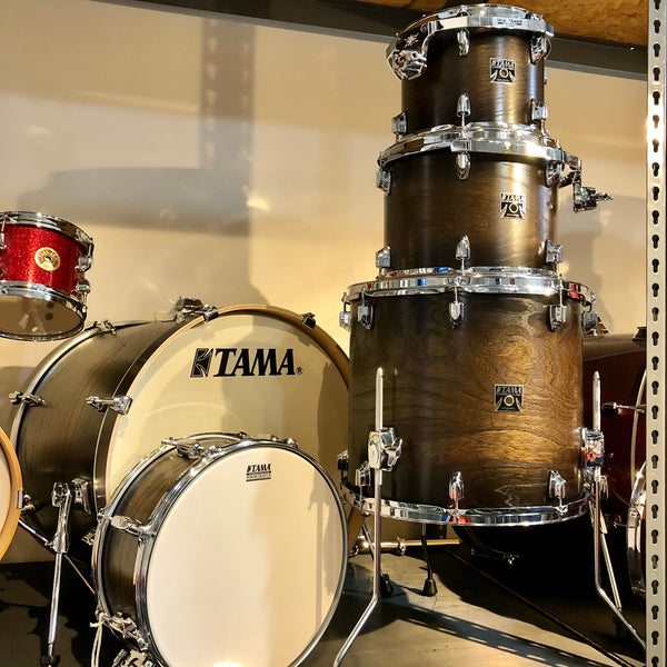 Tama CL52KSEAMCE Superstar 5pc shell pack Matte Charcoal Elmburst Lacebark Pine