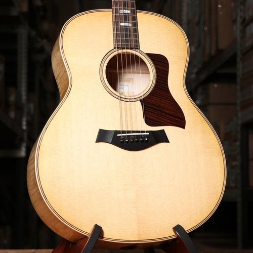 Taylor 618e Grand Orchestra Acoustic Electric Guitar in Antique Blonde