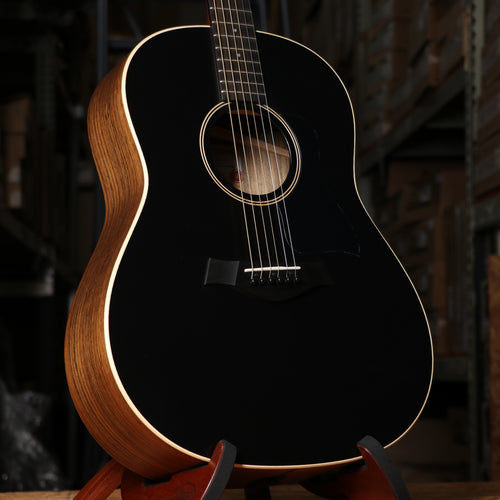 Taylor AD17e American Dream Grand Pacific Dreadnought Acoustic Electric Guitar Blacktop with Case
