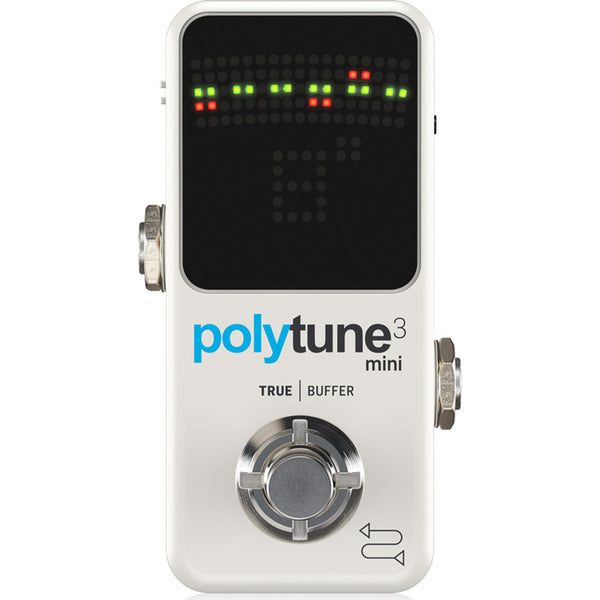 TC Electronic Polytune 3 MINI Polyphonic Tuner Pedal with Built-In BONAFIDE BUFFER