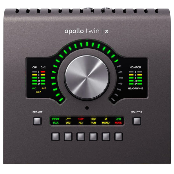 Universal Audio Apollo Twin X Thunderbolt 3 DUO Audio Interface