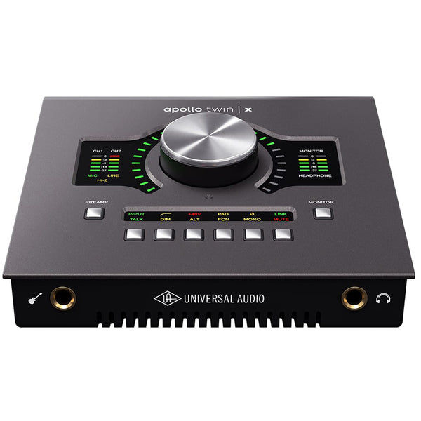 Universal Audio Apollo Twin X Thunderbolt 3 QUAD Audio Interface
