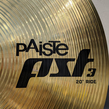 "Used Paiste 0631620 PST 3 20"" Ride Cymbal"