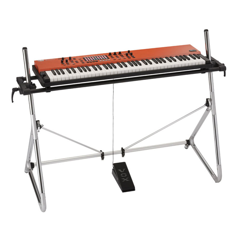 Vox Continental 73-Key Stage Piano and Organ with A-Frame Stand ...