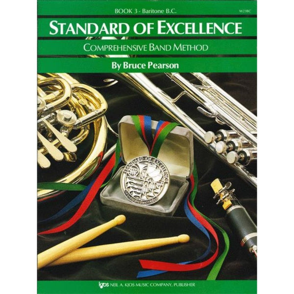 KJOS Standard of Excellence Book 3 - Baritone BC, W23BC