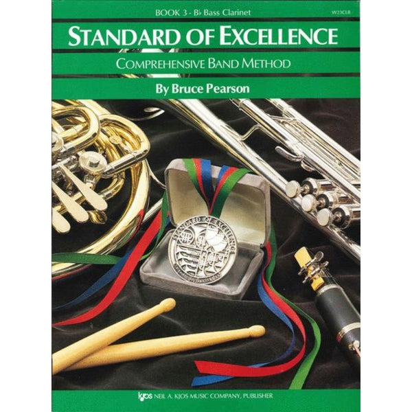 KJOS Standard of Excellence Book 3 - B♭ Bass Clarinet, W23CLB