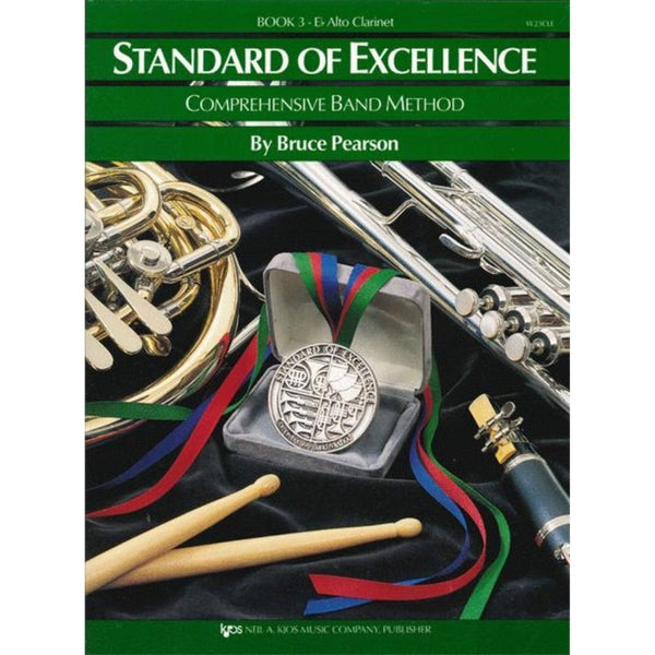KJOS Standard of Excellence Book 3 - E♭ Alto Clarinet, W23CLE