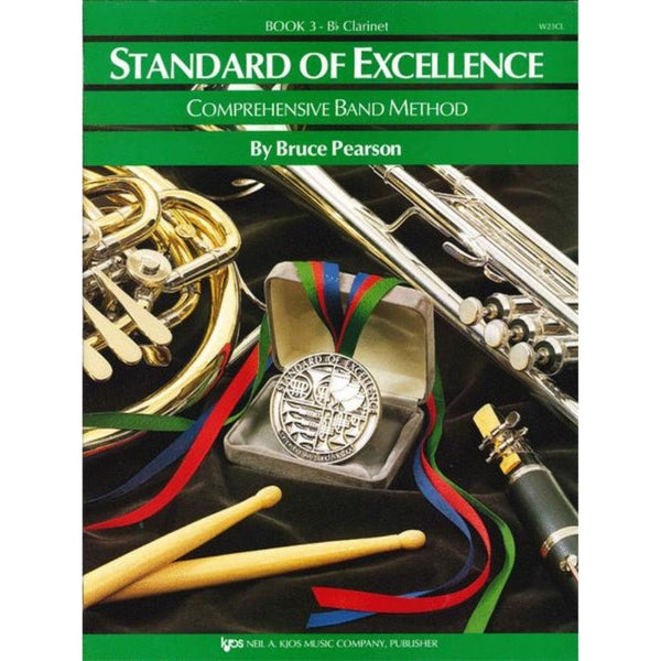 KJOS Standard of Excellence Book 3 - B♭ Clarinet, W23CL