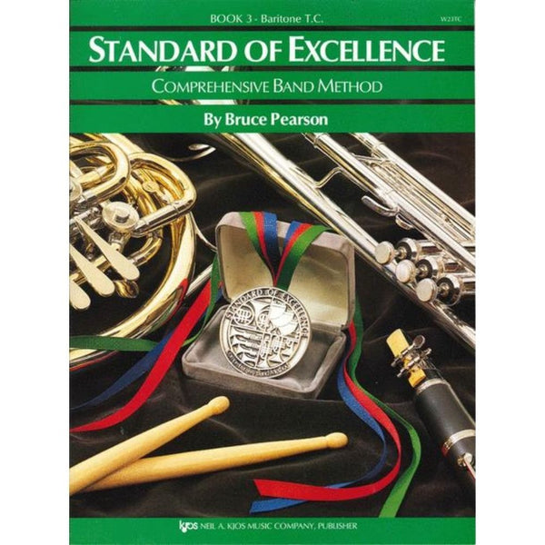 KJOS Standard of Excellence Book 3 - Baritone TC, W21TC