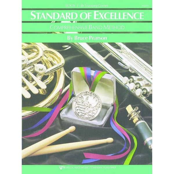 KJOS Standard of Excellence Book 3 - B♭ Trumpet / Cornet, W23TP