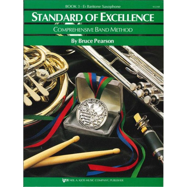 KJOS Standard of Excellence Book 3 - E♭ Baritone Saxophone, W23XR
