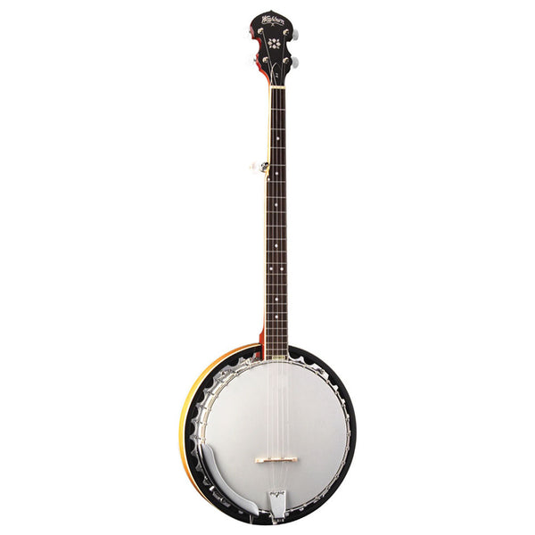 Washburn B9 5-String Resonator Banjo Mahogany