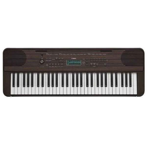 Yamaha PSR-E360DW 61-Key Portable Keyboard in Dark Walnut