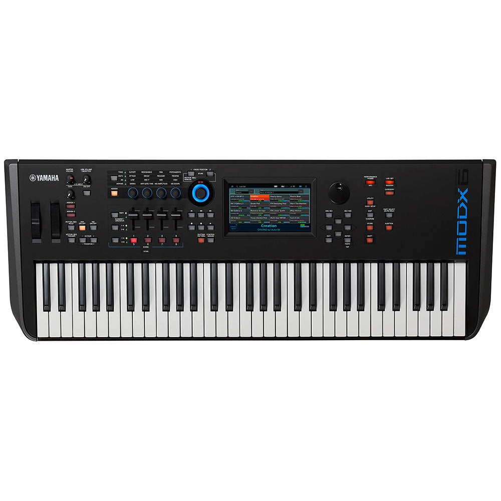 yamaha modx6 61 key semi weighted keyboard synthesizer. Black Bedroom Furniture Sets. Home Design Ideas