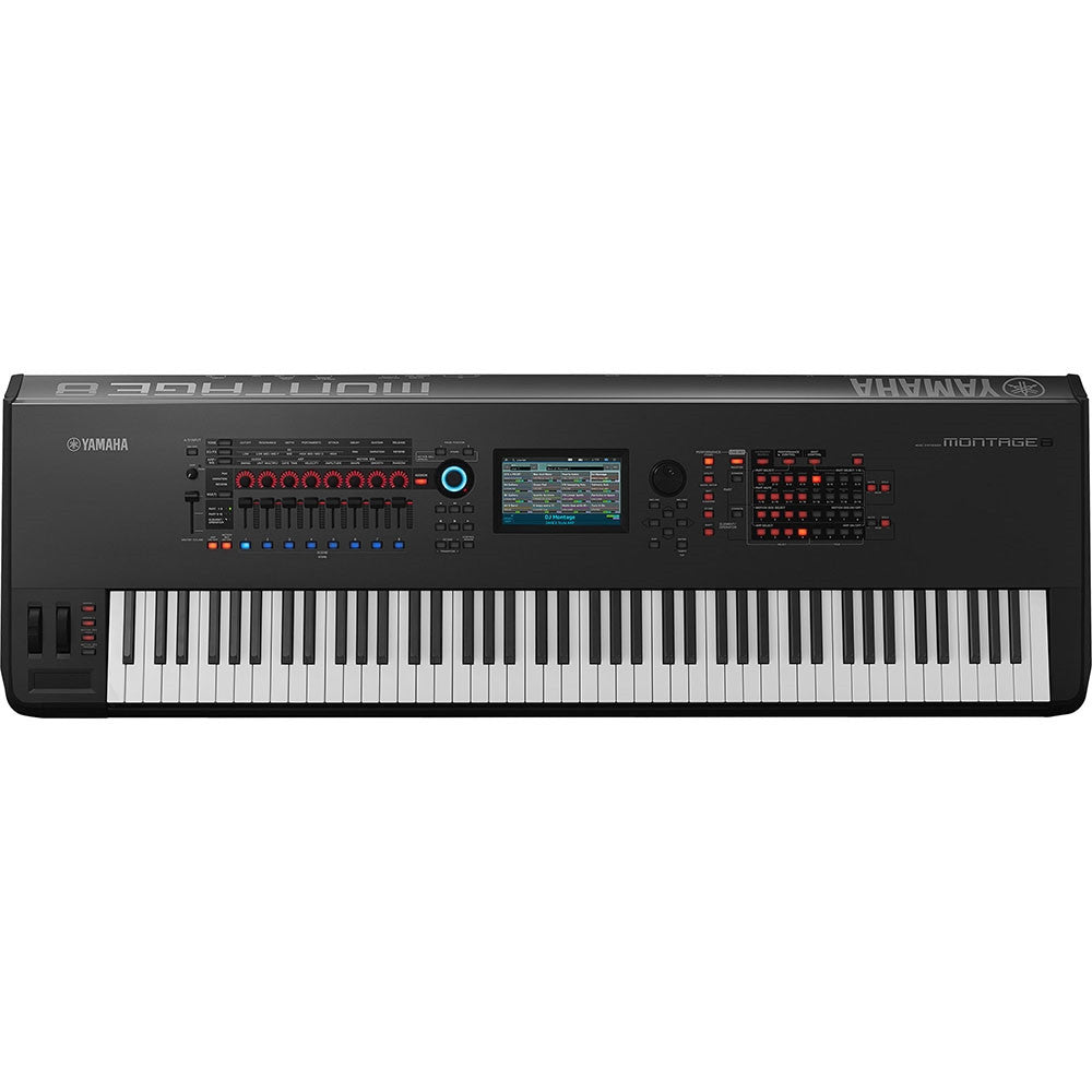 Yamaha Montage 8 Keyboard Synthesizer 88-Keys Black