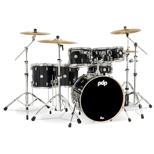 PDP Concept Maple 7-Piece Shell Kit in Meteor Dust, Chrome Hardware