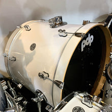 PDP Concept Maple 7 Piece Shell Kit in Pearlescent White