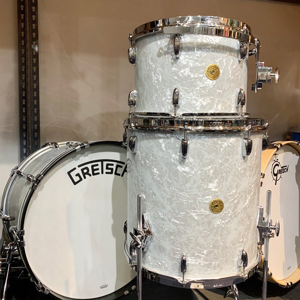Gretsch Broadkaster 3-Piece Shell Kit in 60s Marine Pearl