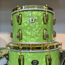 Ludwig 110th Anniversary Classic Maple 3 Piece Shell Kit in Vintage Emerald Pearl