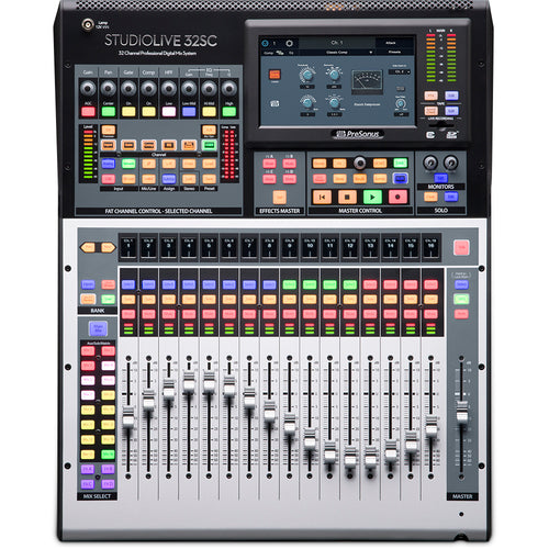 PreSonus StudioLive 32SC Series III 32-Channel Digital Mixer