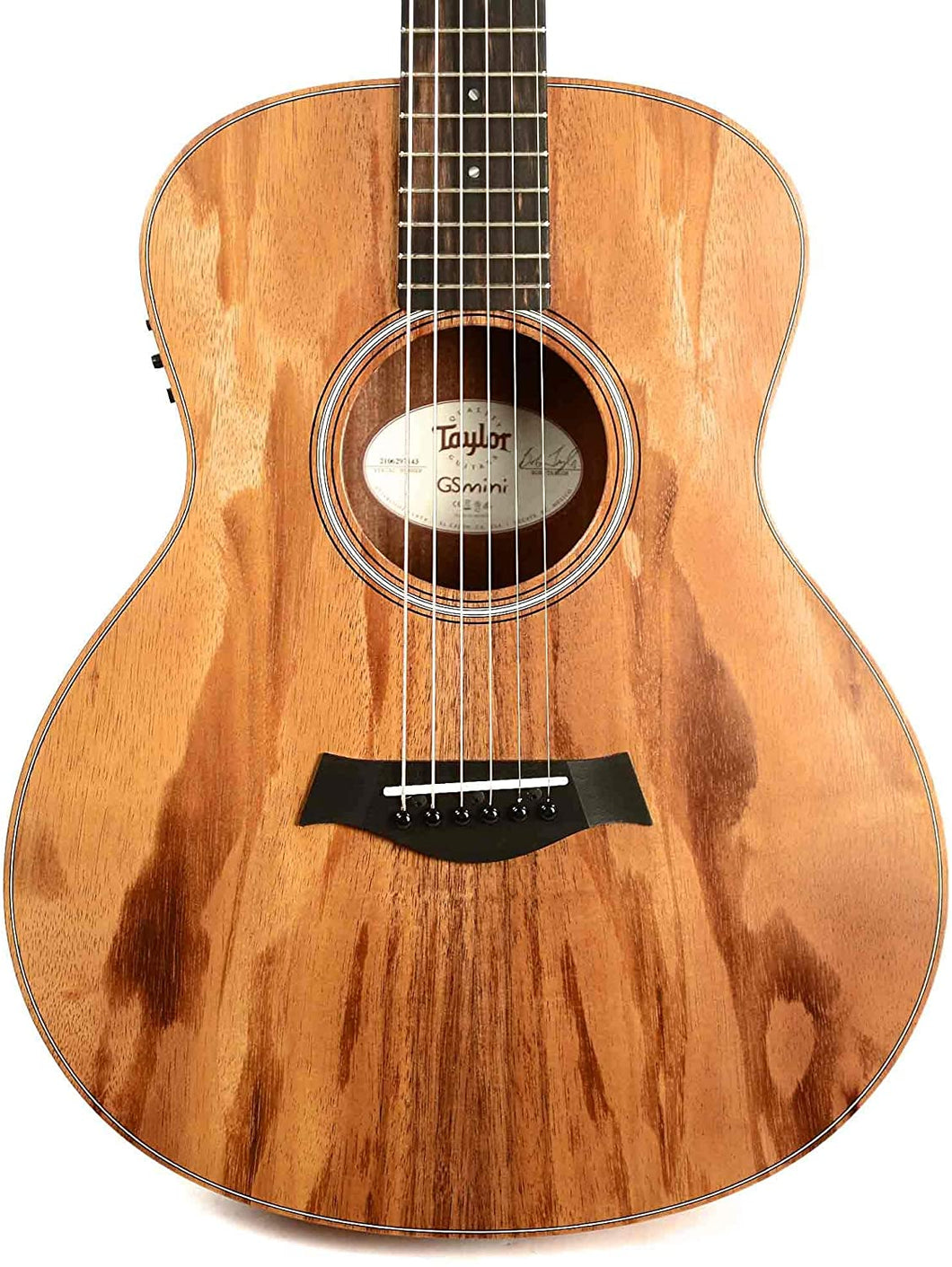 Taylor GS-Mini-e Koa Acoustic Electric Guitar with Hard Bag