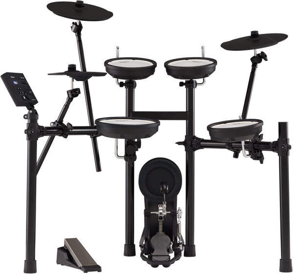 Roland TD-07KV New V-Drum All Mesh 5-Piece Electronic Drum Kit