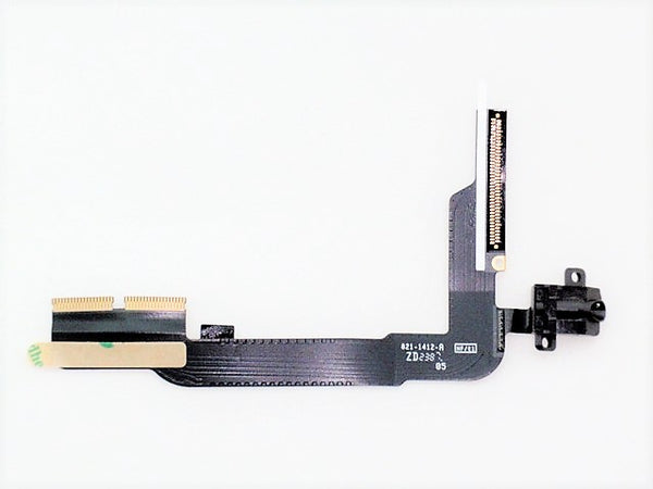 Apple iPad 3 4 WiFi 821-1657-A Audio Jack Port Flex Cable MFC2513