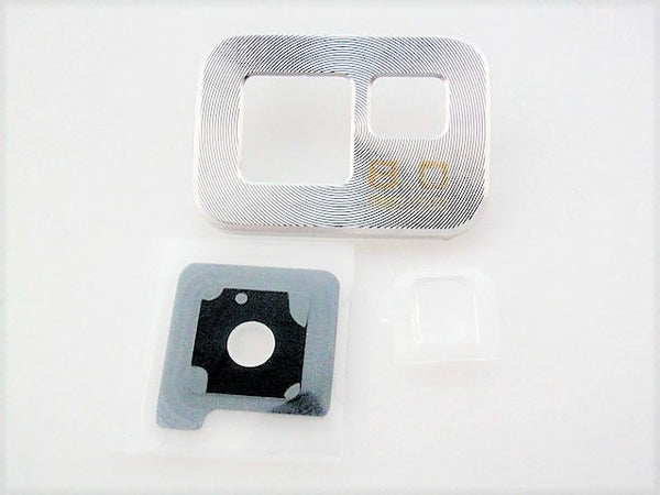 Samsung Silver Rear Camera Lens Cover Bezel Galaxy S2 i9100 i9108 i777