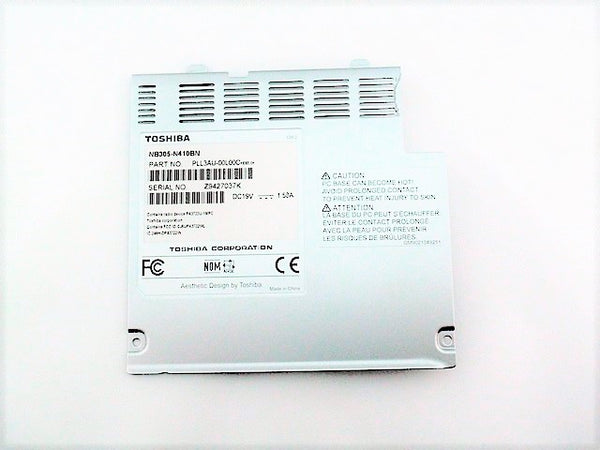 Toshiba K000089890 Hard Drive Access Cover Satellite Mini NB300 NB305