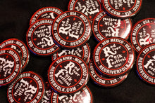 Red River Folk Festival pinback button