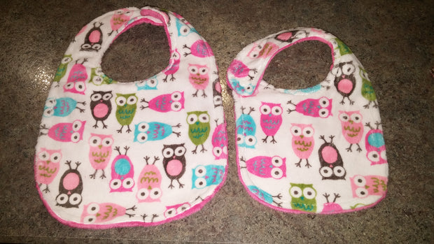 Large Bibs - Set of 3