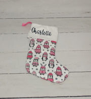 Personalized Designer Minky Christmas Stockings