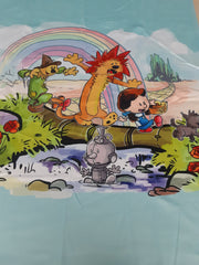 READY TO SHIP - Limited Edition Minky Blanket -  Wizard of Hobbes Panel  - Baby Size