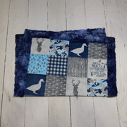 Designer Minky Blanket - Ducks and Trucks