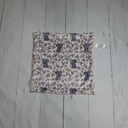READY TO SHIP - Designer Minky Taggie - Floral Elephant