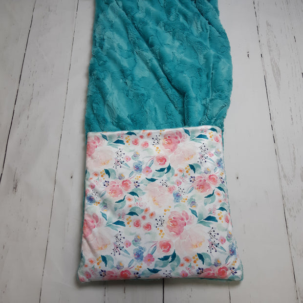 READY TO SHIP - Planket Adult Size - Mermaid Lagoon/Breeze Hide