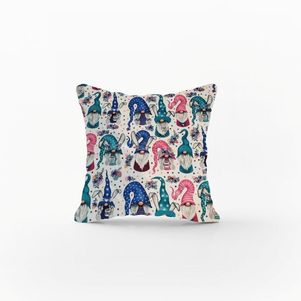 Designer Minky Pillows Shams - Bunny Gnomes