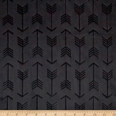 Embossed Arrow Cuddle Minky - 1/2 Yard