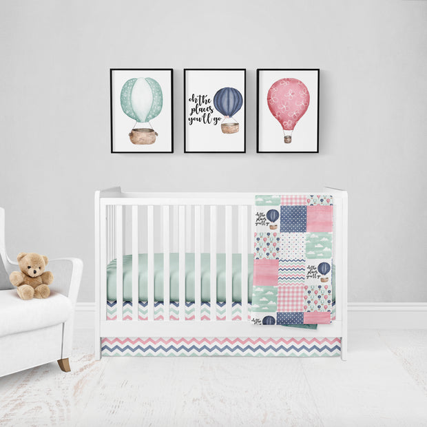 Crib Set - Custom - PICK YOUR FABRIC