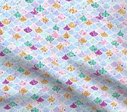 Designer Minky Blanket - Glitter Mermaid Scales