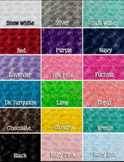 Designer Minky Blanket - PICK YOUR FABRIC